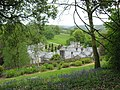 Lanhydrock House viewed from above and behind in the High Garden - geograph.org.uk - 1310783.jpg