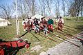 Lanzen werden ook voor verdediging gebruikt 1 april feest Brielle.jpg