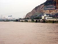 Yellow River at Lanzhou