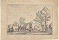 Large Farm with Draw Well from Praediorum villarum et rusticarum casularum icones elenoantissimae ad vivum in apre deformatae MET DP825676.jpg
