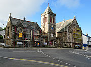Launceston Guildhall and Town hall