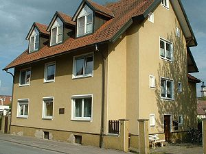 Carl Laemmle - Birthplace of Carl Laemmle in Laupheim