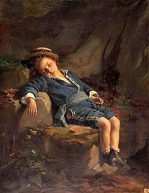 Zoé-Laure de Chatillon - Sleeping Child
