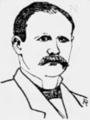 Lawrence A. Yore sketch, Chicago Tribune, 1886 (1).png
