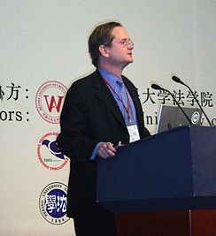 Lawrence Lessig in beijing.JPG