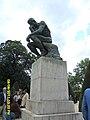 Le Penseur in the Jardin du Musée Rodin, Paris 2011.jpg