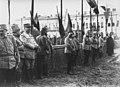 Le roi de Roumanie, le prince Carol, le général Sakharoff, le général Belaeff et le général Berthelot - Buzau - Médiathèque de l'architecture et du patrimoine - AP62T099819.jpg