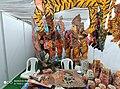 Leather puppet gallery at handloom show Vijayawada oct 2019 6.jpg