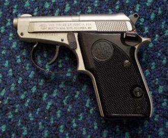 Beretta 21A Bobcat - LeftSInox