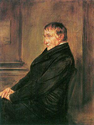 Ignaz von Döllinger - Portrait of Döllinger, by Franz von Lenbach, 1892.
