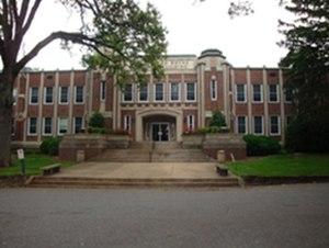 Lenoir–Rhyne University - A building at the university
