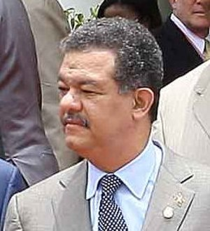 Dominican Liberation Party - Leonel Fernández, the president of the Dominican Liberation Party