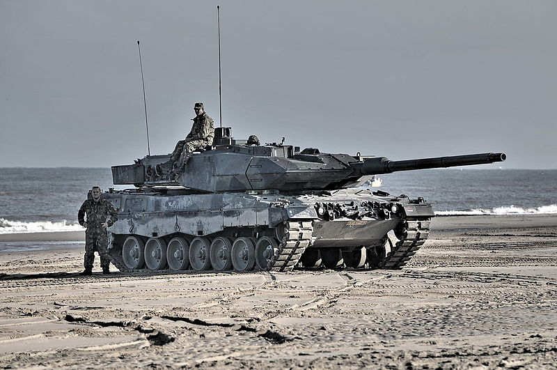 Only 18 Leopard 2A6s are maintained in active service (provision for 48), a single battalion.