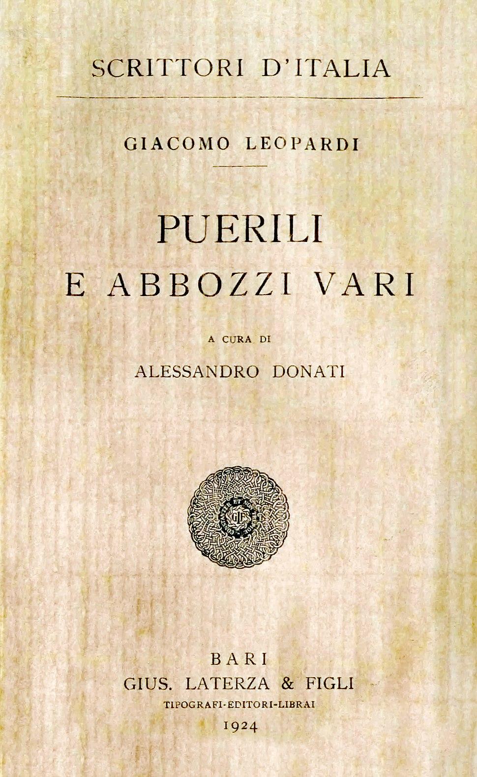Leopardi - Puerili e abbozzi vari, 1924 - 1859280 C.jpeg