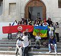 Les Amazighs tunisiens en campagne pour légalité des droits (5911769117).jpg