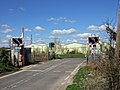 Level Crossing at Higher Woodsford - geograph.org.uk - 374430.jpg