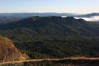Northern Oregon Coast Range mountain in United States of America