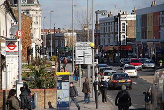 Leyton - Image: Leyton Centre