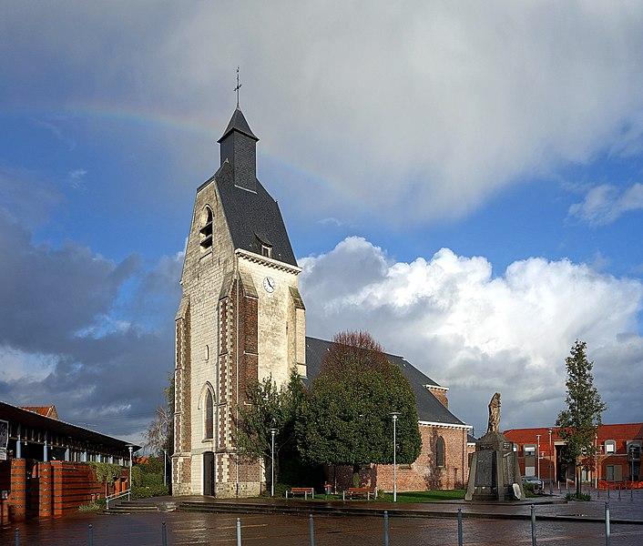 Saint Eloi Church in Lezennes, France.