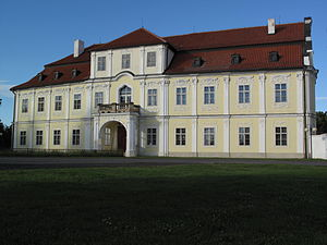 Libočany - The Chateau, today the seat of the Geodesy Institute