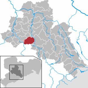 Lichtenau, Saxony - Image: Lichtenau in FG
