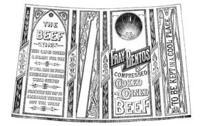 Fray Bentos (food brand) - The original Fray Bentos trade mark, 1881
