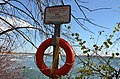 Life jacket on the shores of Lake Ontario (27899854375).jpg