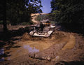 Light tank going through water obstacle, Ft Knox, Ky.jpg