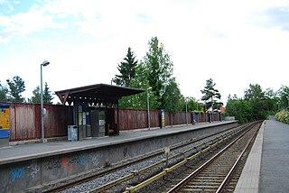 Lijordet (station) railway station in Bærum, Norway
