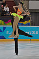 Lillehammer 2016 - Figure Skating Pairs Short Program - Yumeng Gao and Sowen Li 1.jpg