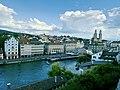 Limmat View from Lindenhof hill, Zurich (Ank Kumar) 01.jpg