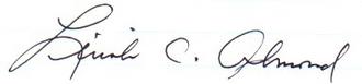 Lincoln Almond - Image: Lincoln Almond (signature)