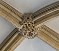 Lincoln Cathedral Consistory Court roof Boss, South west (39548499834).jpg