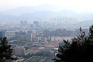 Liandu District District in Zhejiang, Peoples Republic of China