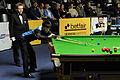 Liu Chuang, Ding Junhui and Thorsten Müller at Snooker German Masters (DerHexer) 2013-01-30 03.jpg