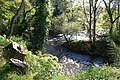 Lively waters below a weir on the Lossie flowing eastwards - geograph.org.uk - 597003.jpg