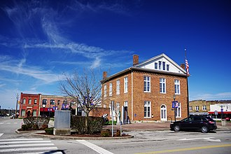 Livingston, Tennessee - Courthouse Square in Livingston