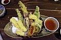 Local vegetable tempura (44004736031).jpg