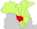 Localització del Secar de la Real respecte del Districte Nord.png