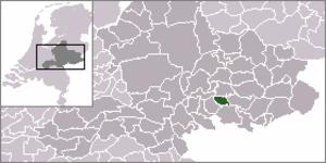 Wehl - Image: Locatie Wehl
