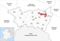 Locator map of Kanton Saint-Dié-des-Vosges-1.png