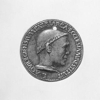 Cristoforo di Geremia - Lodovico Trevisan medal front