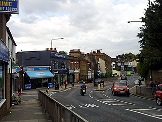 Plumstead district of South East London located in the Royal Borough of Greenwich
