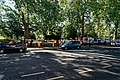 London - Bayswater Road - View South on Sunday Morning Art Fair along Hyde Park Fence.jpg