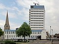 London Metropolitan Police Offices and St Paul's Church in Brentford - panoramio.jpg