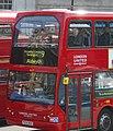 London United bus VLE7 (PG04 WHK) 2004 Volvo B7TL East Lancs Myllennium Vyking, Trafalgar Square, route 9, 13 June 2011.jpg