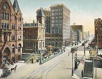 History of Syracuse, New York - South Salina Street c.1905