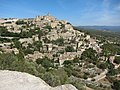 Looking across at Gordes while climbing D2 hill - panoramio.jpg