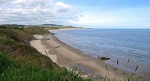 Brittas Bay - Looking north over Brittas Bay