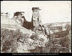 Lookout Rocks, Canon of Grand River R.G.W.Ry. (Rio Grande Western Railway) C.R. Savage, Photo..jpg